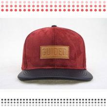 2016 Moda Couro Bonés Trucker Hat Snapback