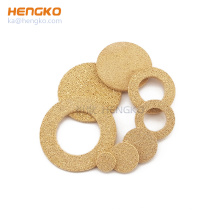 20 90 120 Microns Sintered Porous 316L Multi-purpose Filter Disc Liquid Filter Metal Bronze Stainless Steel 0.2 5 10 3 microns