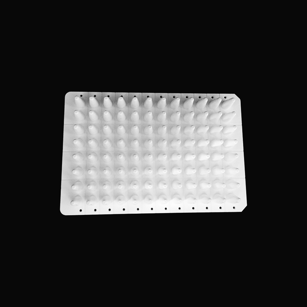 0.1ml 96 Well PCR Plate without skirt