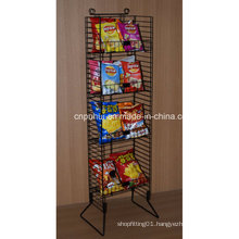 Free Standing Wire Chips Display Rack (PHY1060F)