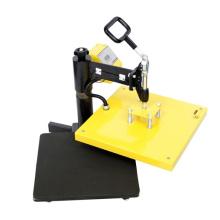 Machine de presse de transfert de chaleur de Swing manuel
