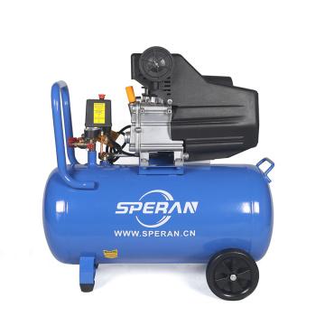 Высокое качество 220В мини мобильный портативный 3 л. с. 50 литровый с прямым приводом воздушный компрессор