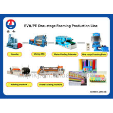 EVA/PE one-stage foaming production line