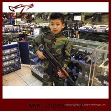 Tática nos militares do exército camuflar uniforme para as crianças da floresta Camo