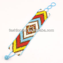 Bracelet de perles graines FashionMe verre