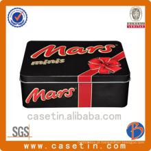 Fabricante Rectangle Cookie Custom Embossed Tin Box