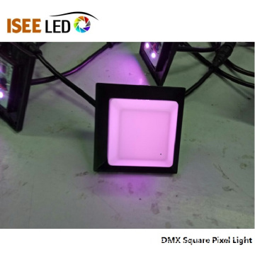 DMX512 carré RVB Pixel Light 50 * 50mm LED Module