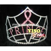 Corona de la tiara de los cabritos del partido de la cinta del desfile del diseño nuevo
