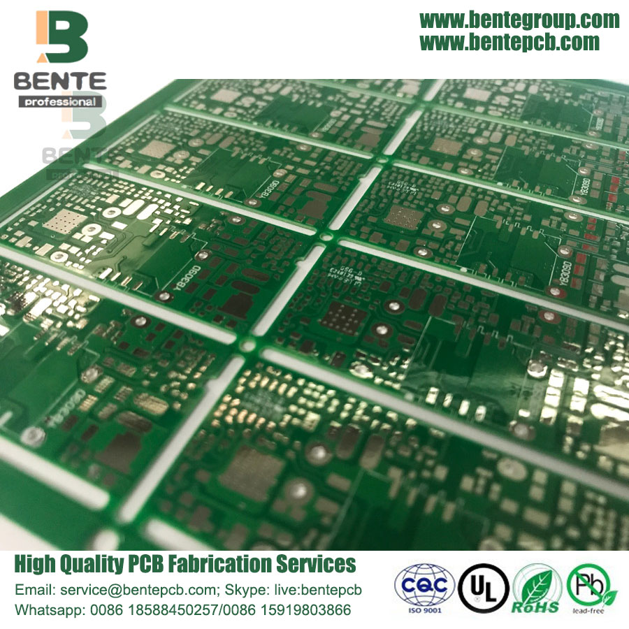 Hole Copper Low Cost PCB 25um