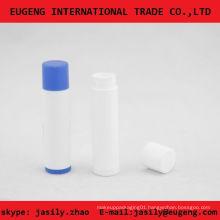 simple slim round lip balm packaging