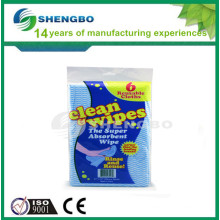 Cloth cleaning 33*50cm green blue