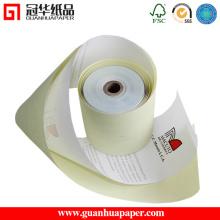 Blanc / Rose / Jaune 3 Ply Cash Register Paper