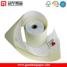 ISO zertifiziert 76mm 2 Ply Carbonless Papierrollen für POS