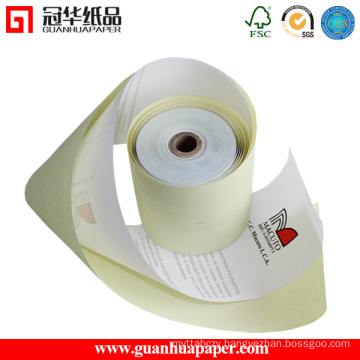 ISO Certified 76mm 2 Ply Carbonless Paper Rolls for POS