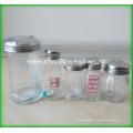 Bouteille de stockage de condiment en verre