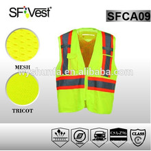csa z96-09 new products for traffic work reflective safety waistcoat vest
