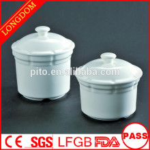 2014 hot sale hotel restaurant ceramic porcelain soup bowl with cover