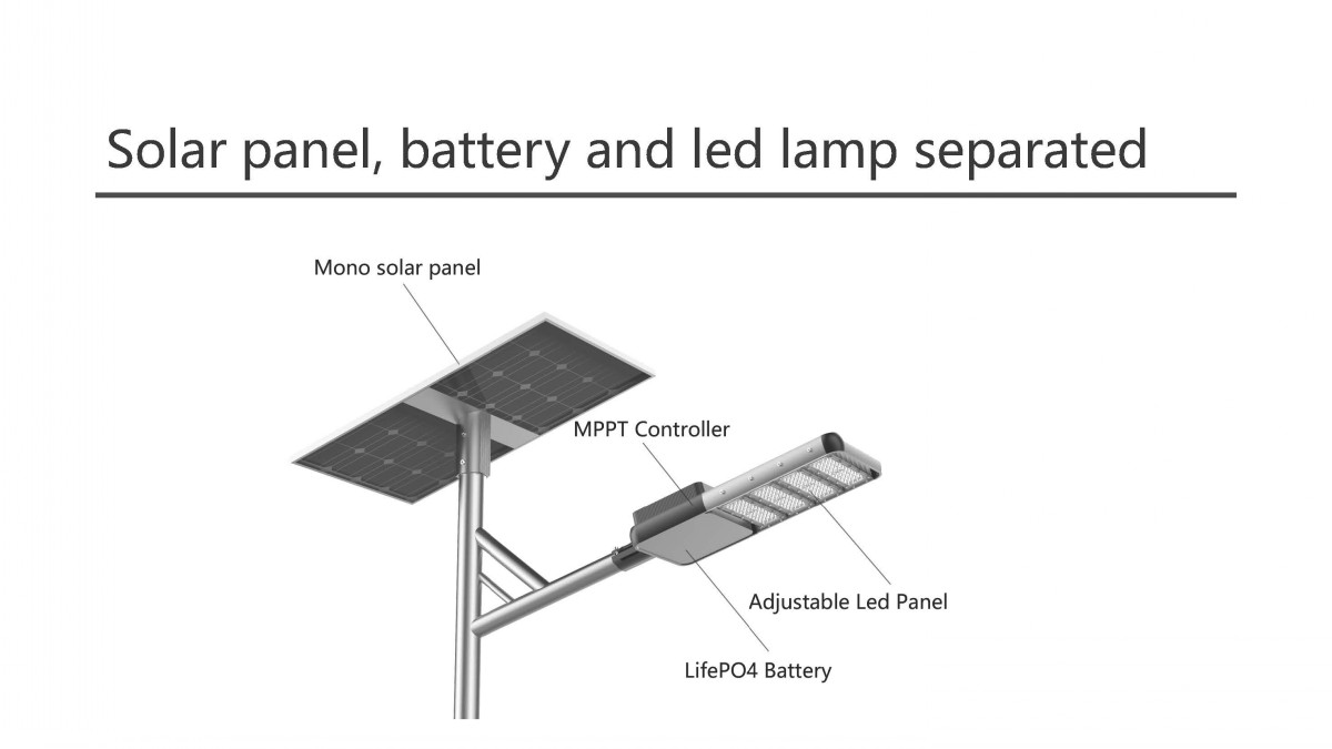 philips solar street light