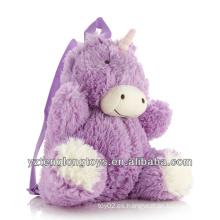 Fábrica al por mayor de animales en forma de mochila mochila mochila unicornio