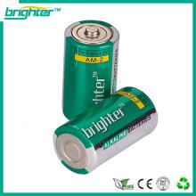 Super Akaline Battery AM2 1.5V LR14 C fabricado na China