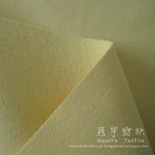 Tecido de poliéster de couro camurça ligado para têxteis-lar