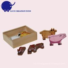 Wooden Kids Animal Magnet Toy
