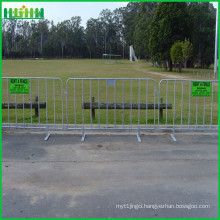 powder coated Police barrier used for concert