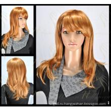 Горячие продажи кружева синтетический парик (модель-ЕО-Е)