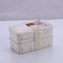 Bamboo Food Container Lunch Box Gifts