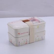 Бамбук Пищевой Контейнер Lunch Box Подарки
