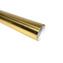 Película para mascotas metalizada con revestimiento dorado de vinilo autoadhesivo