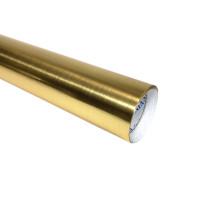 Самоклеящаяся виниловая металлизированная пленка для домашних животных с золотым покрытием