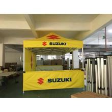 Tiendas de publicidad de aluminio hexagonales de 10x10ft 50mm para SUZUKI