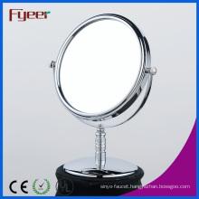 Fyeer Desktop Free Standing 8 Inch Round Makeup Mirror