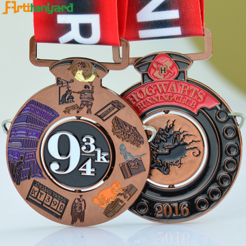 New Metal Medals And Trophies With Ribbon