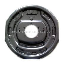 """12"""" backing plate for car trailer brake assembly"""