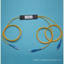 1 * 2 Одноволоконный волоконно-оптический соединитель с разъемом SC / PC