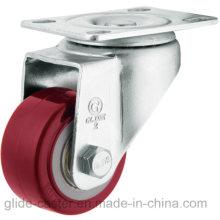 PU-Rolle für mittlere Beanspruchung (rot) (flache Oberfläche) (G2202)