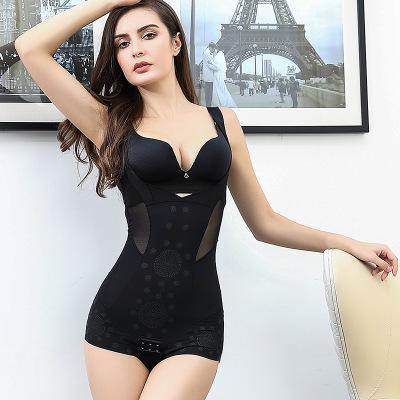 Thin Ice Mark Postpartum Body Sculpting Bodysuit Caffeine Negative Ion Slimming Buttocks Underwear Female Tummy Size