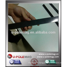 Flexible magnet used in small elevators for homes
