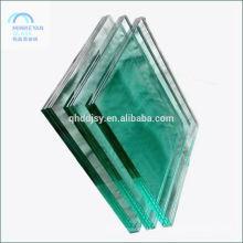 12 mm de espesor de vidrio templado precio, hoja templada clara con SGCC y CCC
