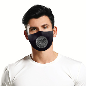 3D gedruckte America Movie Dust Washable Mask