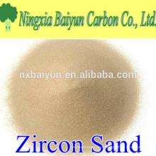 Fornecedor de areia de zircão de alta qualidade de 66%