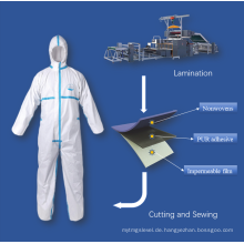 Schmelzklebstoff für Schutzkleidung