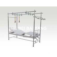 A-143 Нержавеющая сталь Двухфункциональная ортопедическая тяговая кровать