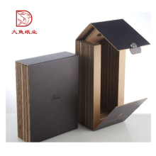 Top quality new design creative thick paper 2 bottle wine box
