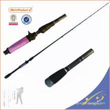 BAR003 China produto de pesca nano tubos de carbono em branco lançando vara de pesca do robalo para água salgada