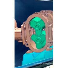 Pompe à lobes rotative en acier inoxydable sanitaire