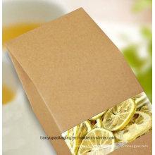 No hay impresión Bolsa de papel o bolsa de flores de Kraft