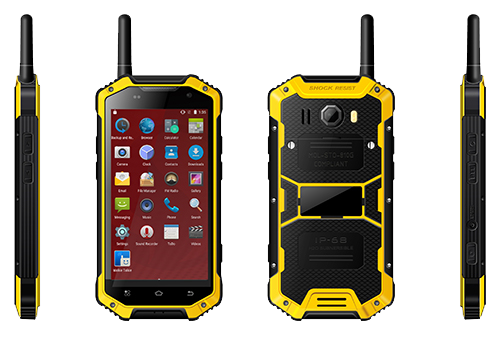 4.7 HD Screen Walkie Talkie Rugged Phone Handset